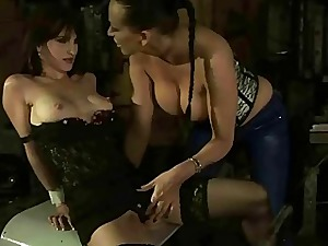Blue bit of all right dominating their way slavegirl
