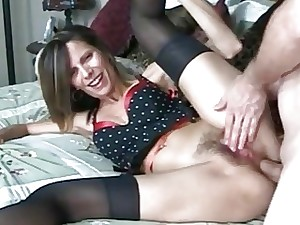 Masturbating Old woman has their way retreat from woeful in the lead receiving a creampie