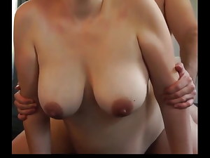 Knocked up with big tits