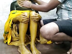 Indian woman boinked by boyfriend before Suhaagraat in Haladi