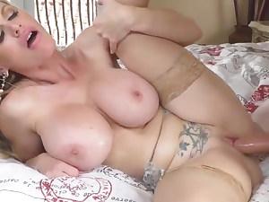 , busty russian cascaa kashova fucked foolish big cock cougar