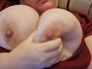 Plumper with gigantic tits