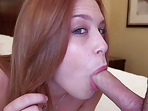 Redhead Teen Zoological Blowjob