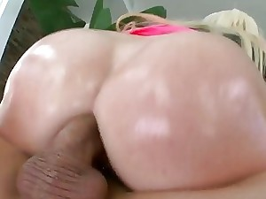 Heavy bra-stuffers cheery Alexis Set to work rectal fucked
