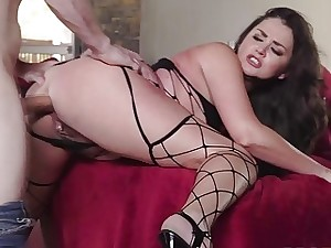Preston Parker anal fellow-feeling a amour Allie Cloudiness